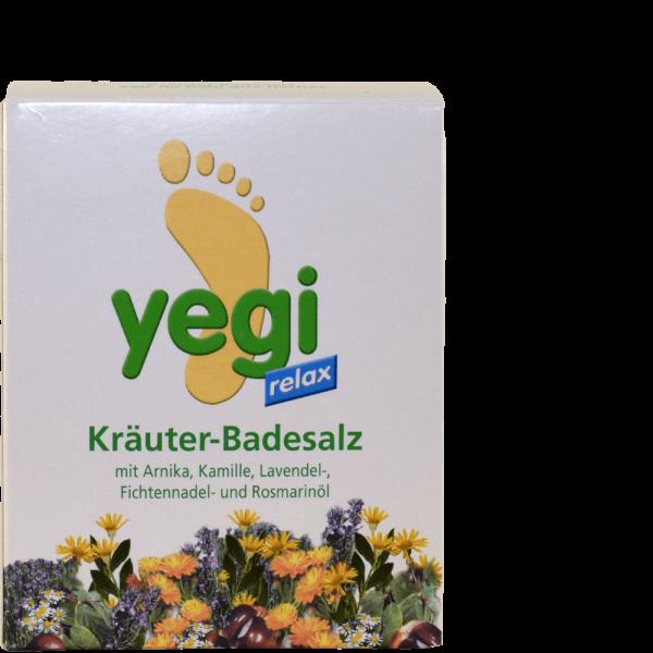 YEGI RELAX Kräuter Fussbadesalz 8 Btl 50 g