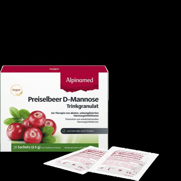 ALPINAMED Preiselbeer-D-Mannose