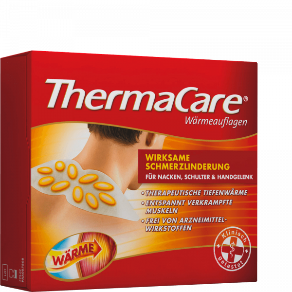 Thermacare Nacken Schulter Armauflage