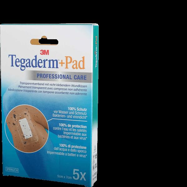 3M Tegaderm + Pad 5x7cm mit Wundkissen