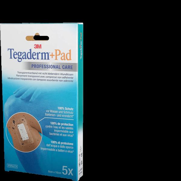 3M Tegaderm + Pad 6x10cm mit Wundkissen