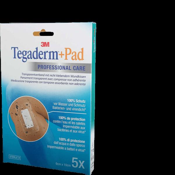 3M Tegaderm + Pad 9x10cm mit Wundkissen