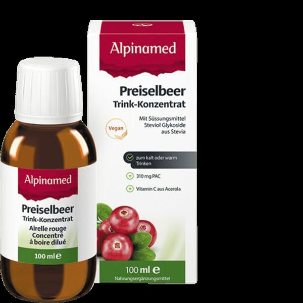 ALPINAMED Preiselbeer Trink-Konzentrat