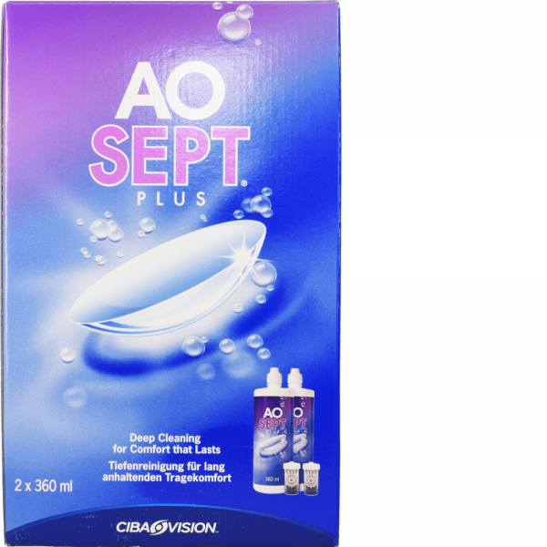 Aosept Plus Duo Pack
