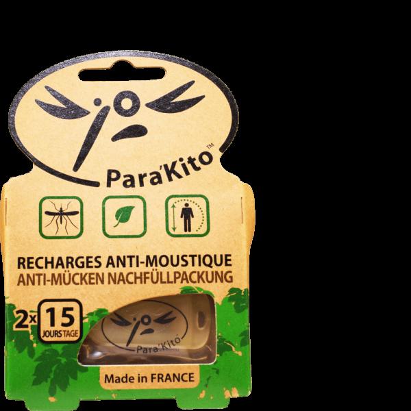 PARAKITO Nachfüll natürlicher Mückenschutz 2 Stk