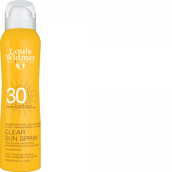 Widmer Clear Sun Spray 30 unparfümiert