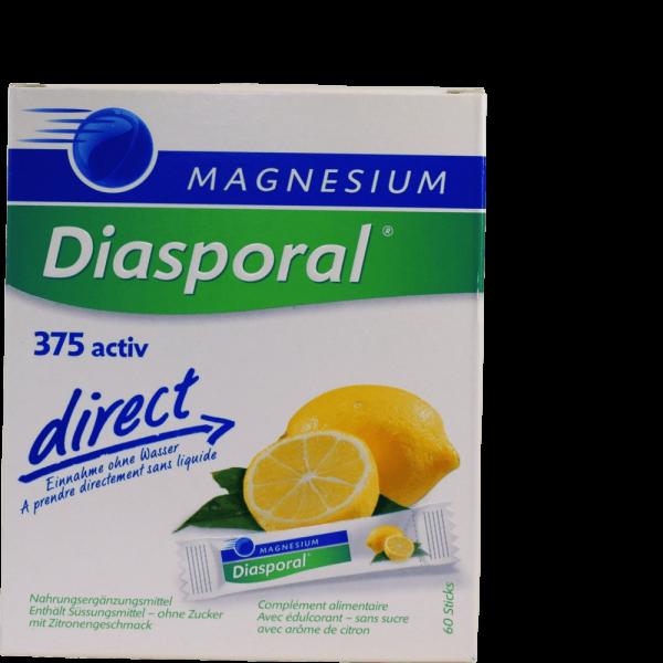 Magnesium Diasporal Active Direct Zitrone