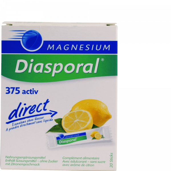 Magnesium Diasporal Active Direct Zitrone