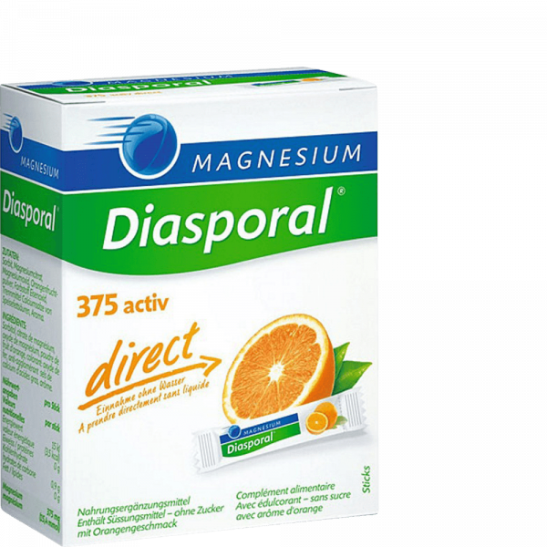 MAGNESIUM DIASPORAL Activ Direct orange 20 Stk