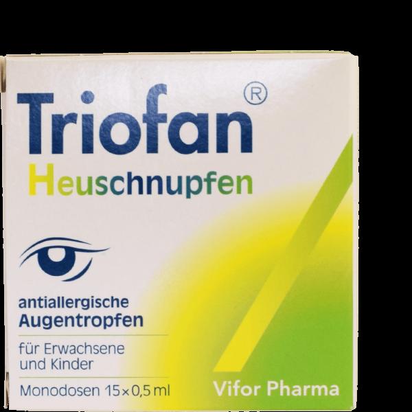 Triofan Heuschnupfen Augentropfen Monodosen