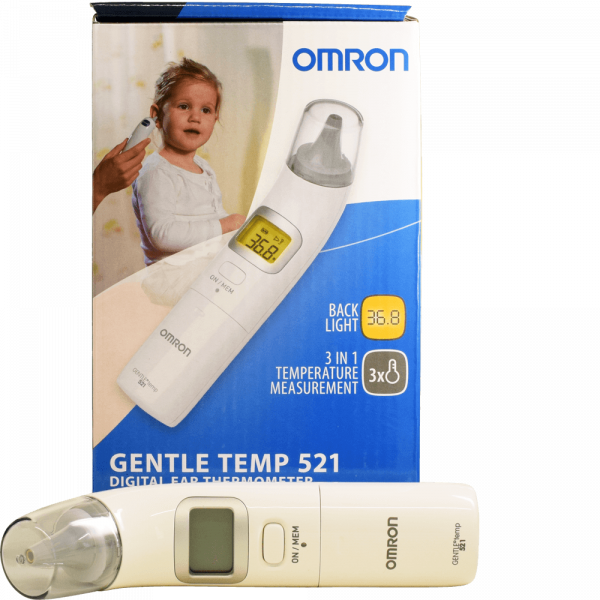 Omron Ohrthermometer Gentle Temp 521