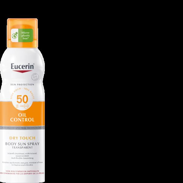 EUCERIN SUN Dry Touch Transparent LSF50