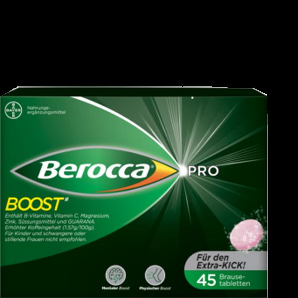 BEROCCA Boost Brausetablette