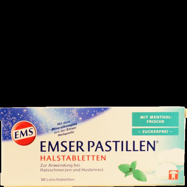EMSER Pastillen zuckerfrei Mentholfrische