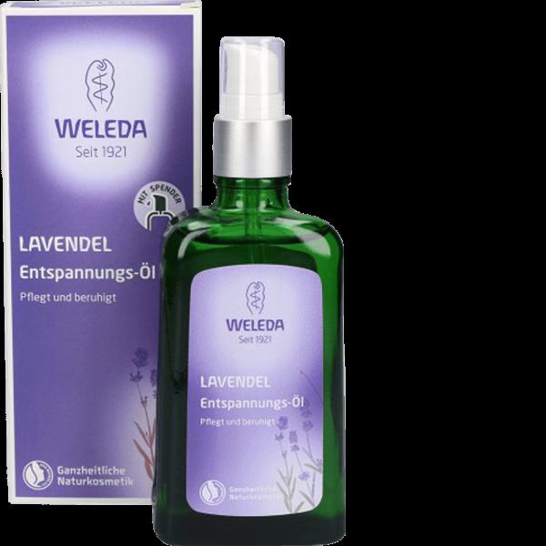 WELEDA Lavendel Entspannungs-Öl Glasflasche