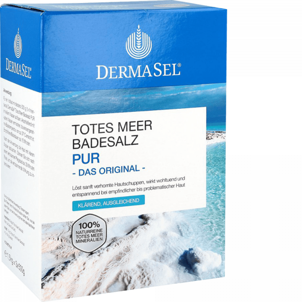 DERMASEL Badesalz PUR