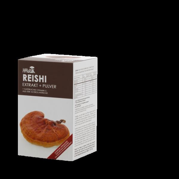 HAWLIK Reishi Extrakt + Pulver