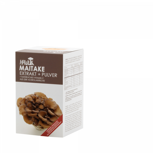 HAWLIK Maitake Extrakt + Pulver
