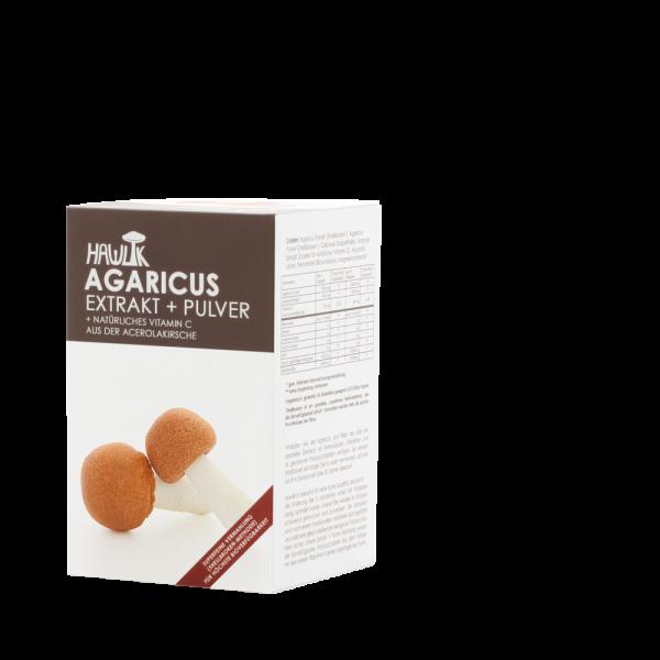 HAWLIK Agaricus Extrakt + Pulver
