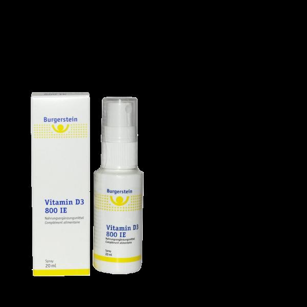 BURGERSTEIN Vitamin D3 800 IE Spray
