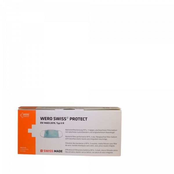 WERO SWISS Protect Maske Typ II R 50 Stk