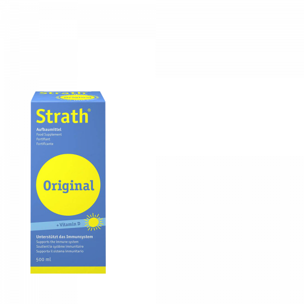 STRATH Original flüssig Aufbaumittel mit Vit D