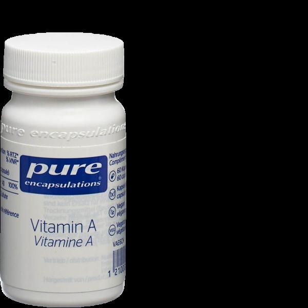 PURE Vitamin A Kaps 60 Stk