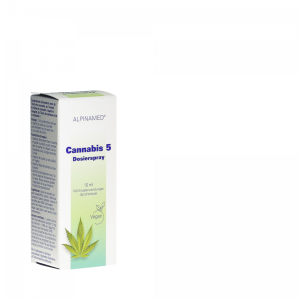 ALPINAMED Cannabis 5 Dosierspray
