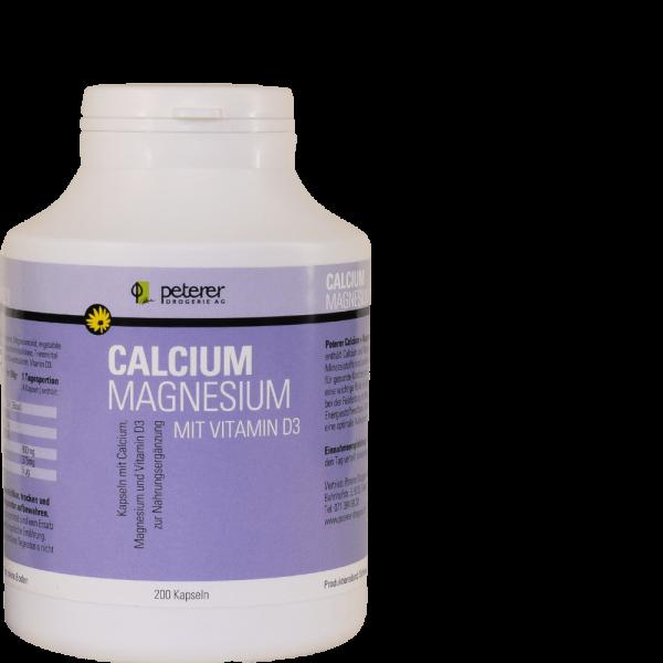 Calcium Magnesium mit Vitamin D3
